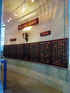 ENMH Wall of Honor