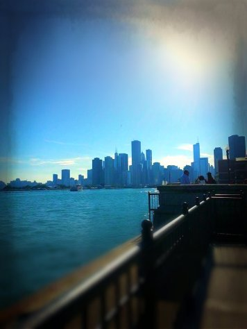 Looking Southwest from the Navy Pier