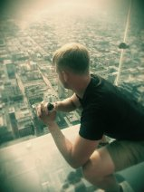 SKYDECK: 1,300 ft squat, for loose hips and good health.